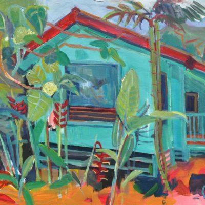 hawaiian home, 0.6 x 0.8 m