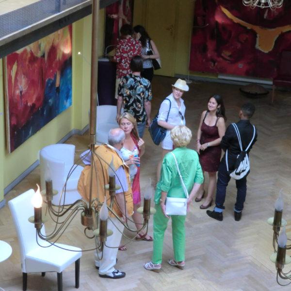 Opening, Art Gallery Heckmann Höfe