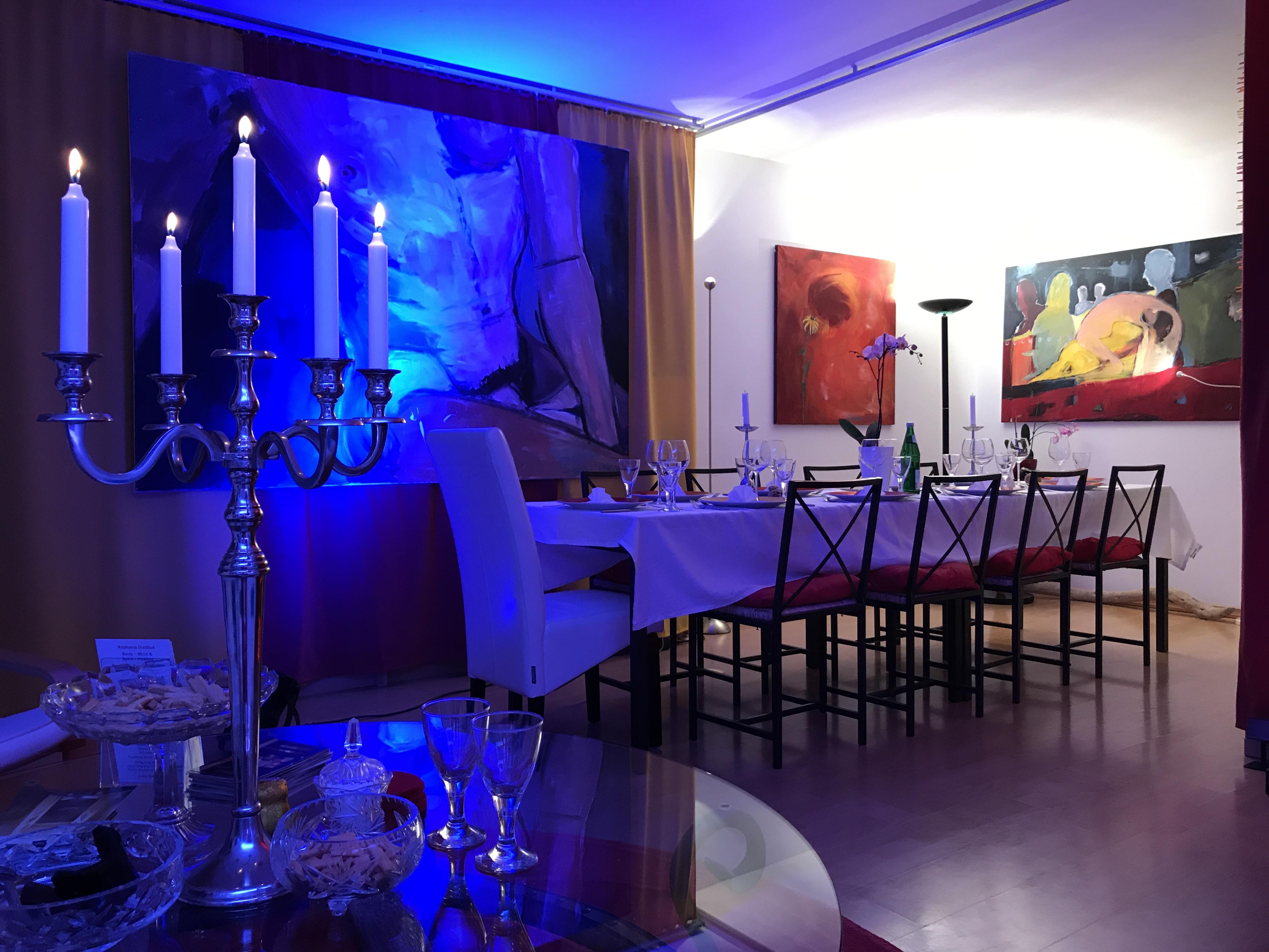 Art Dinner at art Gallery Susanne Rikus